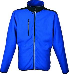SCHWARZWOLF BESILA pánská fleece mikina, modrá M