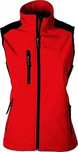SCHWARZWOLF BELIDIS vesta dámská, logo vzadu, červená L - reklamní vesty