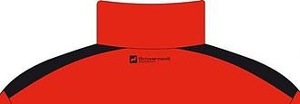 SCHWARZWOLF BELIDIS vesta dámská, logo vzadu, červená L