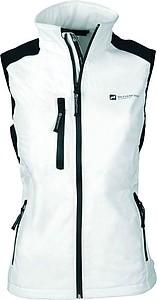 SCHWARZWOLF BELIDIS vesta dámská, logo vpředu, krémová XL - reklamní vesty