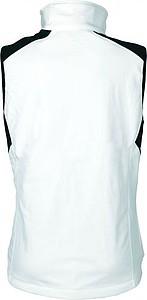 SCHWARZWOLF BELIDIS vesta dámská, logo vpředu, krémová XL