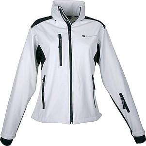 SCHWARZWOLF BREVA bunda dámská, logo vpředu, krémová L - reklamní vesty