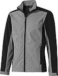 Softshellová bunda ELLEVATE Vesper, černá L