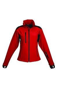 SCHWARZWOLF BREVA bunda dámská, logo vpředu, červená L - reklamní hrnky