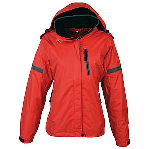 SCHWARZWOLF BONETE dámská podzimní bunda, červená M - reklamní bundy
