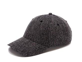 GARETA Sportovní šestipanelová čepice s vyztuženým čelem, černá - reklamní čepice