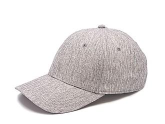 GARETA Sportovní šestipanelová čepice s vyztuženým čelem, šedá - reklamní bundy