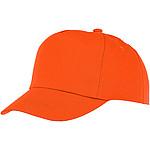 Pětipanelová bavlněná čepice Feniks, červená - reklamní čepice