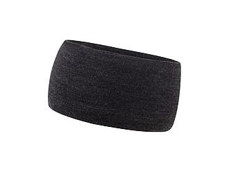 KULDIGA Zimní čelenka s fleecovou podšívkou, černá - reklamní trička
