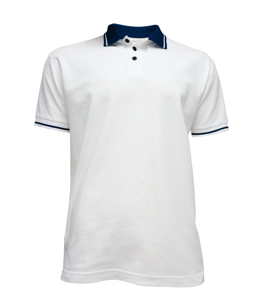 881098481c9 Polokošile pánská SAILOR bílá s tmavě modrou L
